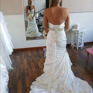 Sottero and Midgely Adorae Strapless Wedding Gown